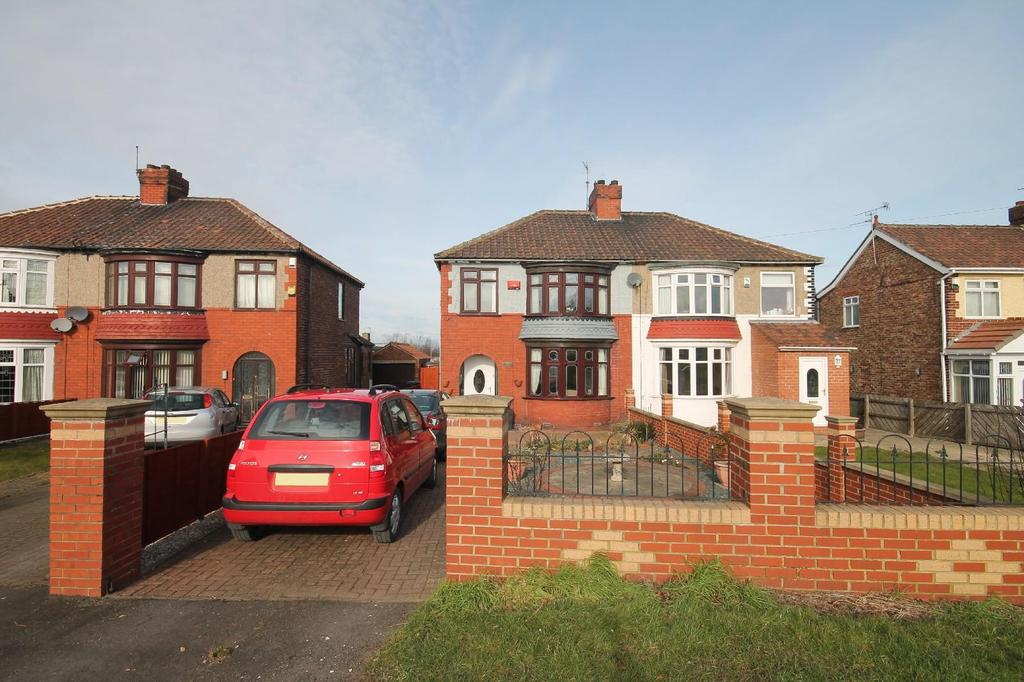 3 Bedrooms Semi Detached House for sale in Normanby Road, Ormesby
