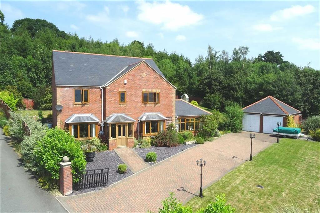 4 Bedrooms Detached House for sale in Brynfa Avenue, Welshpool