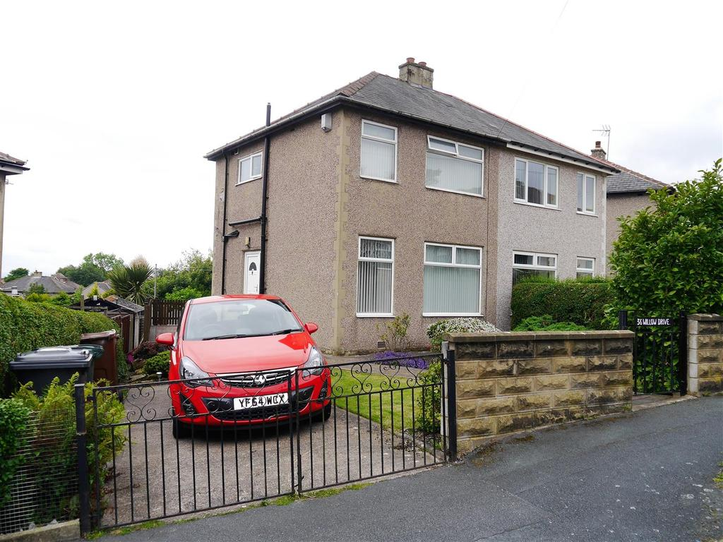 2 Bedrooms Semi Detached House for sale in Willow Drive, WIbsey, Bradford, BD6 1EF