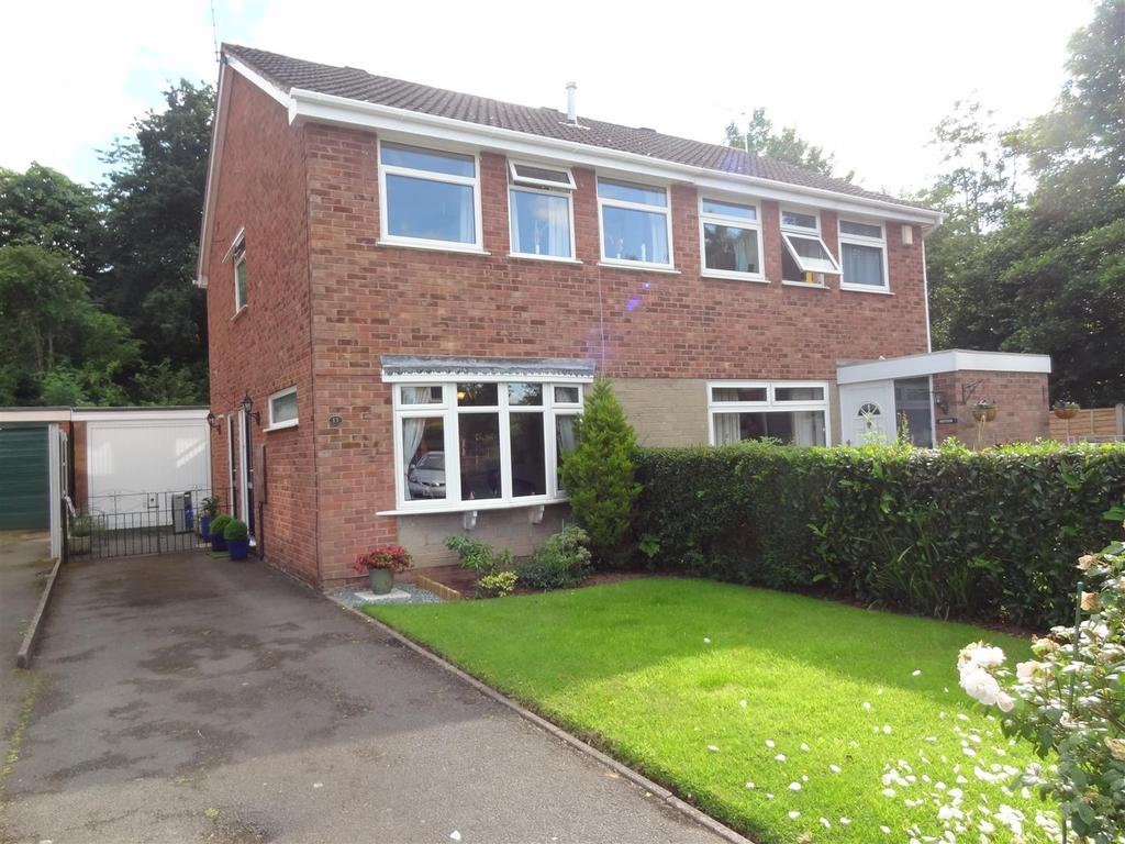 3 Bedrooms Semi Detached House for sale in Romsley Drive, The Farthings, Shrewsbury