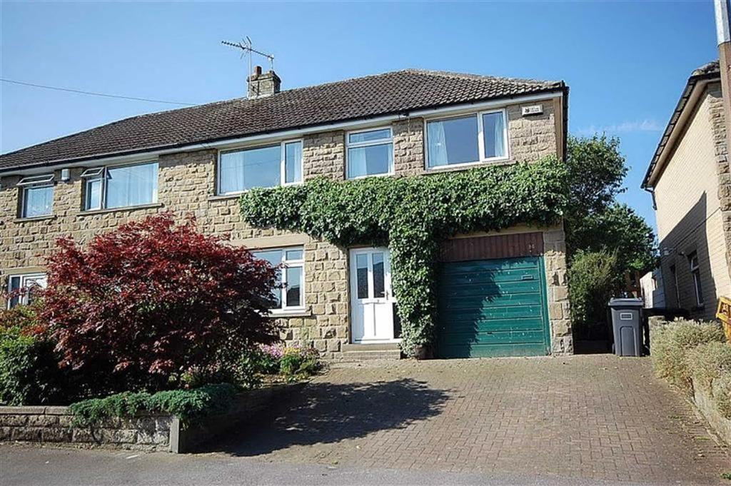 4 Bedrooms Semi Detached House for sale in Derwent Road, Honley, Holmfirth, HD9