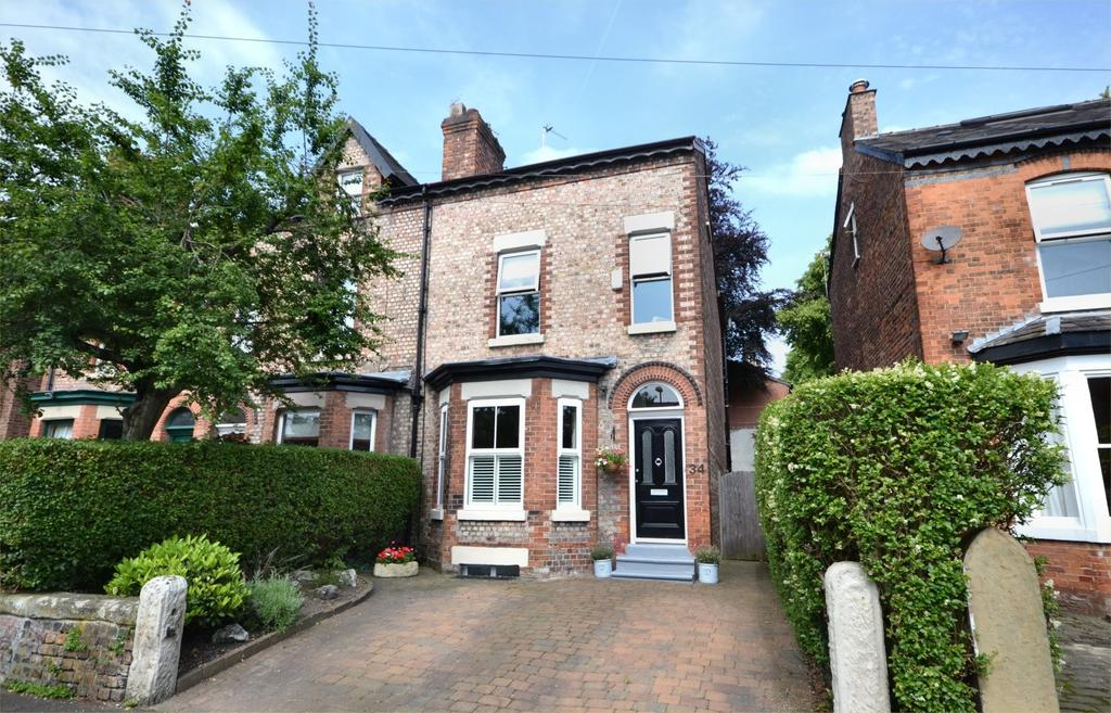 4 Bedrooms Semi Detached House for sale in Cresswell Grove, West Didsbury