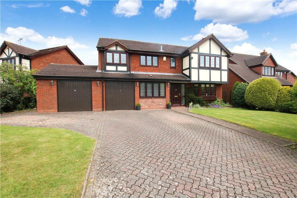 5 Bedrooms Detached House for sale in Hither Green Lane, Abbey Park, Redditch, Worcestershire, B98