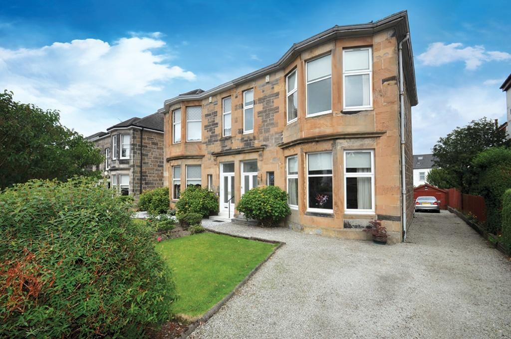 3 Bedrooms Semi-detached Villa House for sale in 12 Belmont Drive, Giffnock, G46 7PA