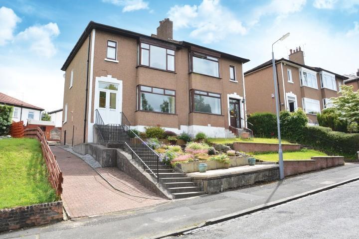 3 Bedrooms Semi-detached Villa House for sale in 5 Quarrybrae Avenue, Clarkston, G76 7QR