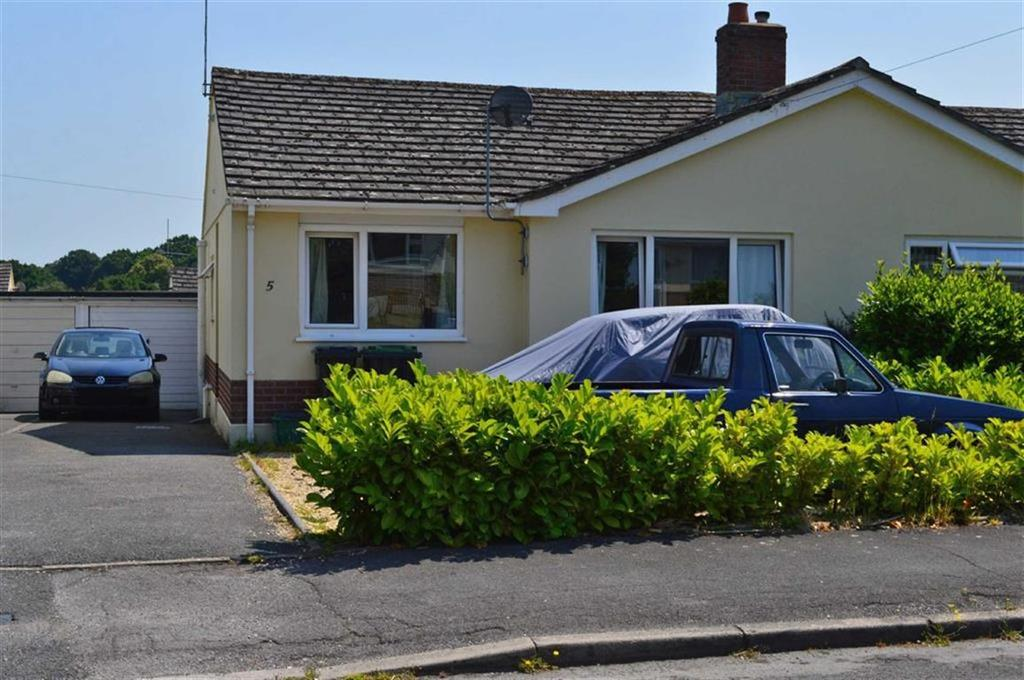 2 Bedrooms Semi Detached Bungalow for sale in Swallow Way, Wimborne, Dorset