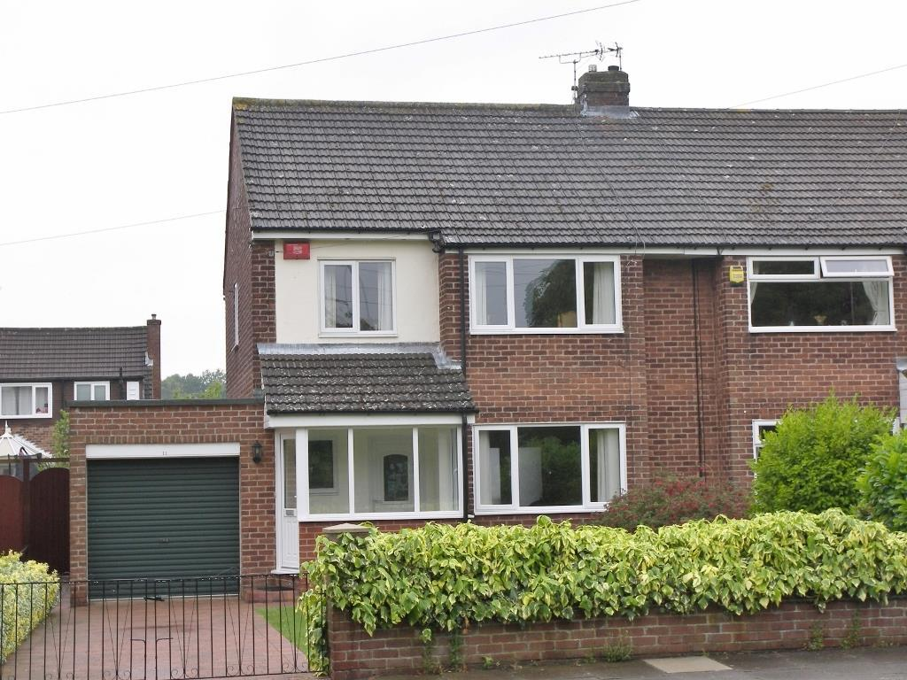 3 Bedrooms Semi Detached House for sale in Long Drive, Loansdean, Morpeth