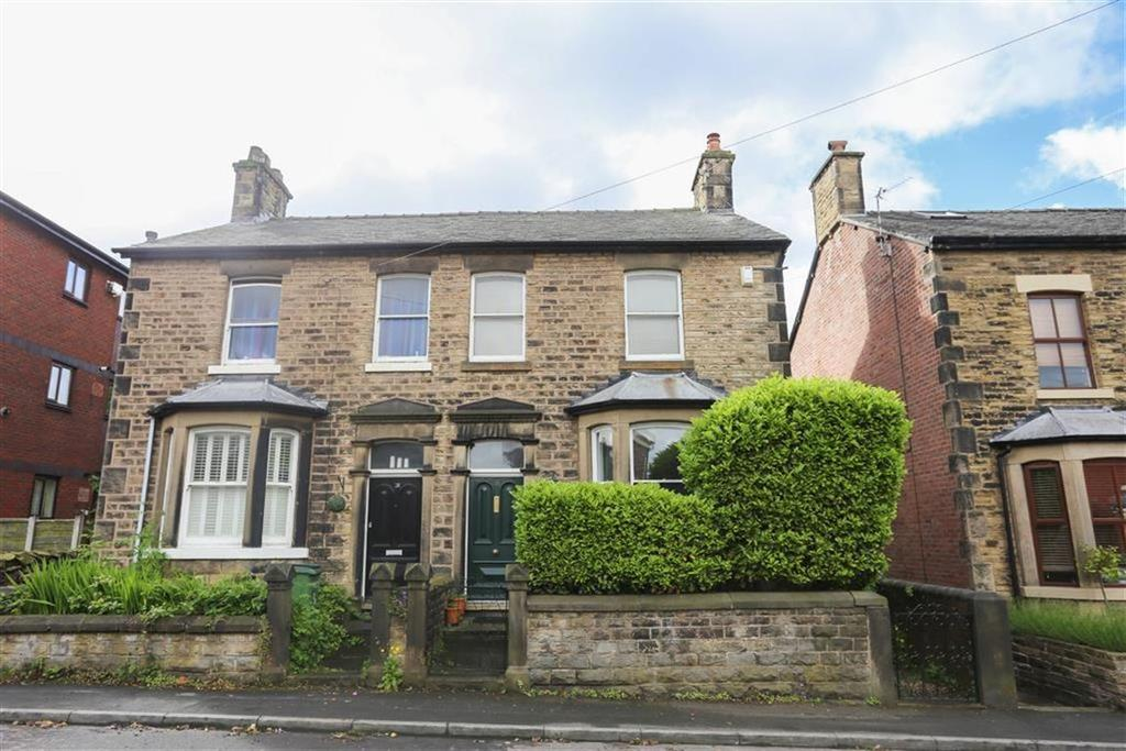 3 Bedrooms Semi Detached House for sale in Station Road, Marple, Cheshire