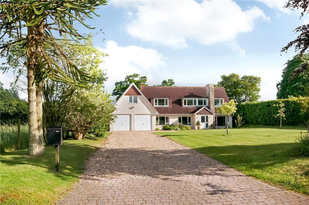 5 Bedrooms Detached House for sale in Gaston Lane, Upper Farringdon, Alton, Hampshire, GU34