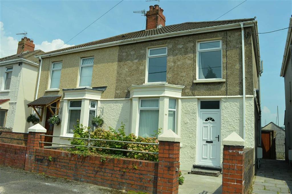 3 Bedrooms Semi Detached House for sale in Tynybonau Road, Swansea, SA4