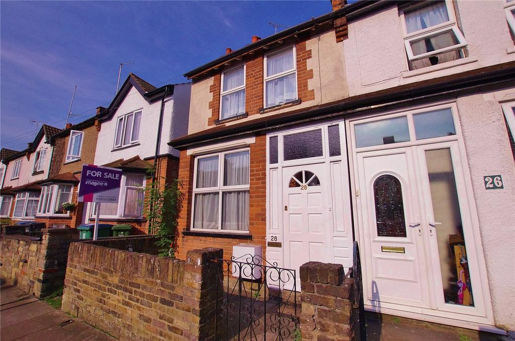 3 Bedrooms End Of Terrace House for sale in Cassiobridge Road, Watford, Hertfordshire, WD18