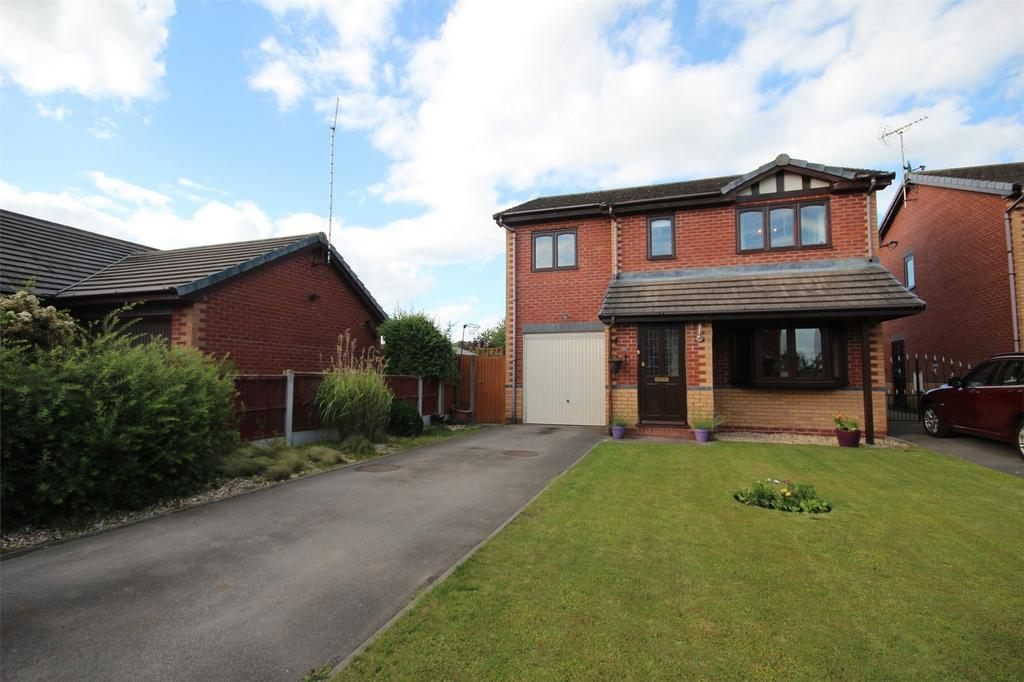 4 Bedrooms Detached House for sale in The Sidings, Cheadle, Staffordshire