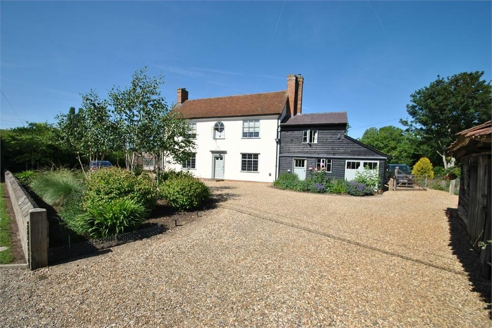 4 Bedrooms Country House Character Property for sale in Bures Road, Little Cornard, SUDBURY, Suffolk