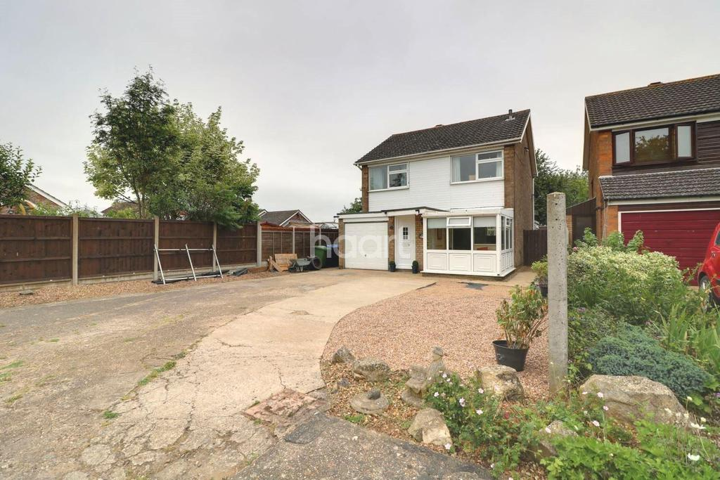 3 Bedrooms Detached House for sale in Heath Close, Welton