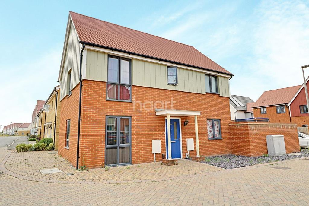 3 Bedrooms Detached House for sale in Heathland Way, Quantum, North Grays