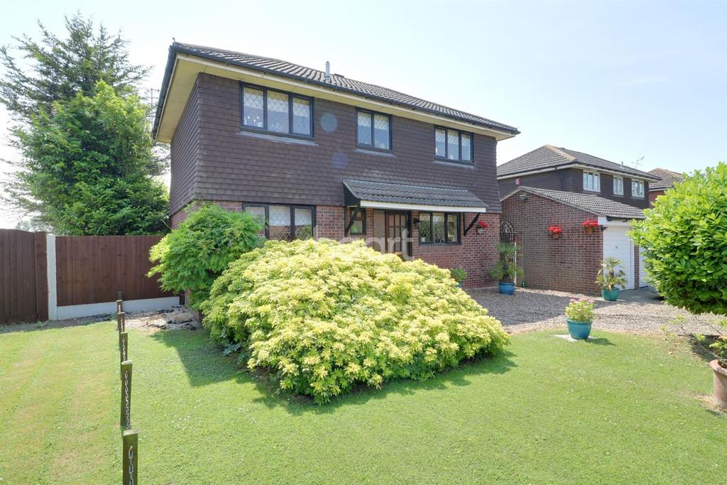 4 Bedrooms Detached House for sale in Speedwell Court, Thurrock Park