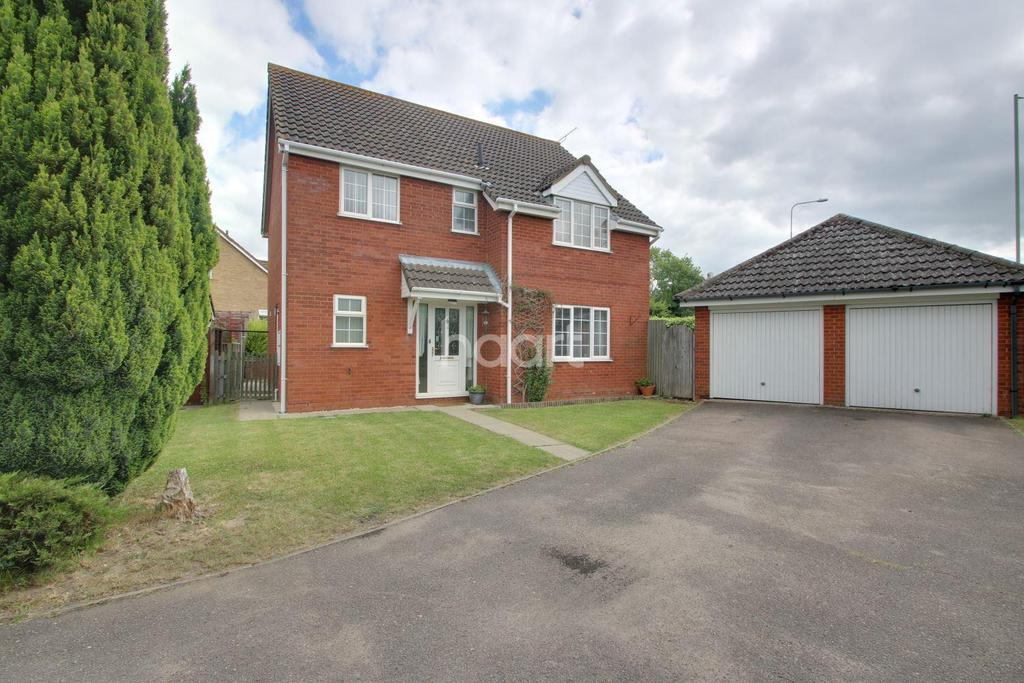 4 Bedrooms Detached House for sale in Plummer Close, Ixworth