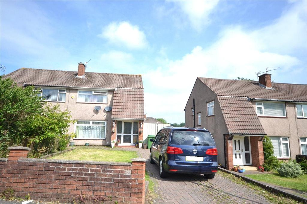 3 Bedrooms Semi Detached House for sale in Llanedeyrn Road, Penylan, Cardiff, CF23