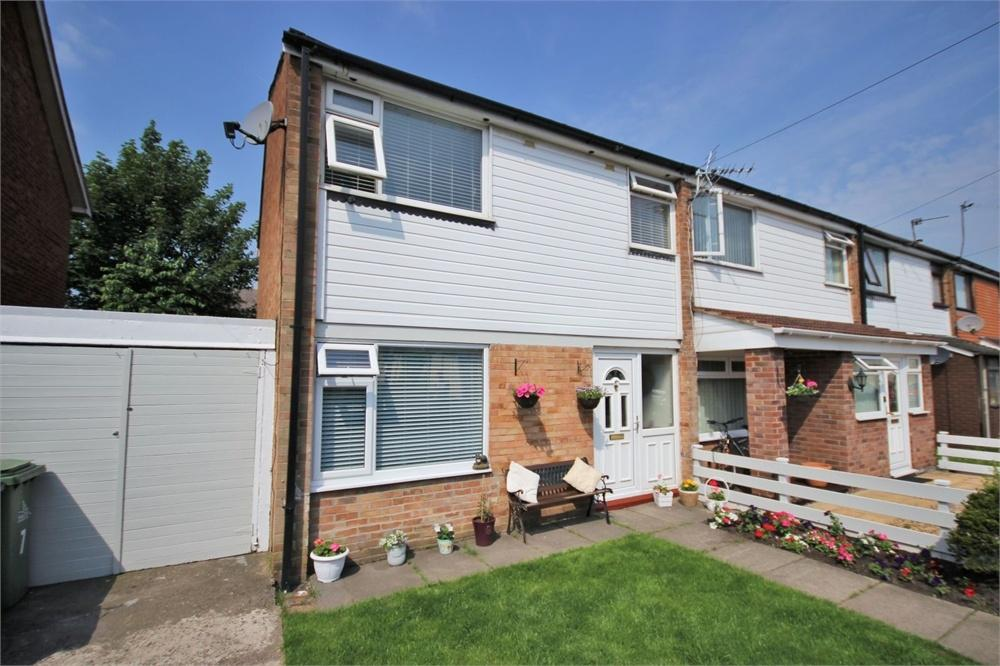 3 Bedrooms End Of Terrace House for sale in Kershaw Street, WIDNES, Cheshire