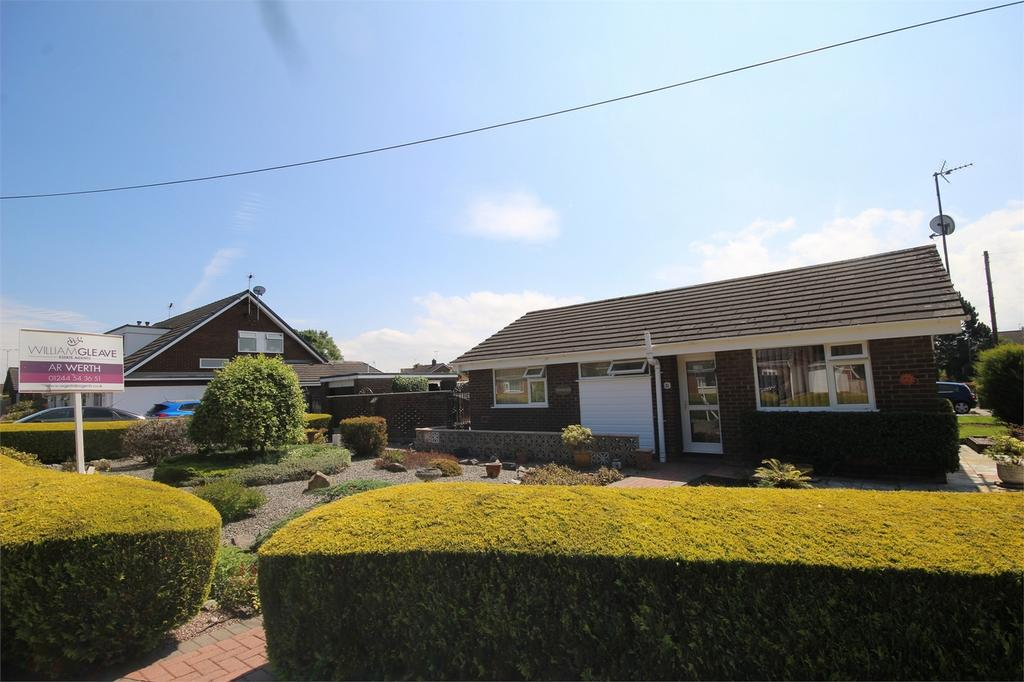 2 Bedrooms Semi Detached Bungalow for sale in Uwch Y Nant, Mynydd Isa, Flintshire