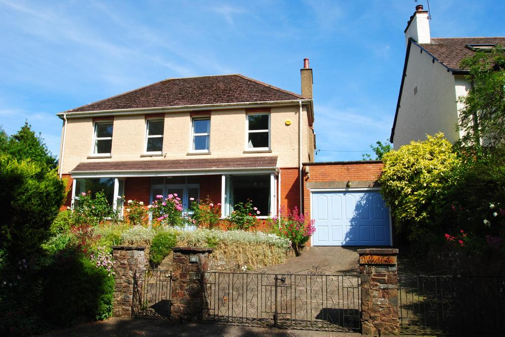 4 Bedrooms Detached House for sale in Park Hill, Tiverton