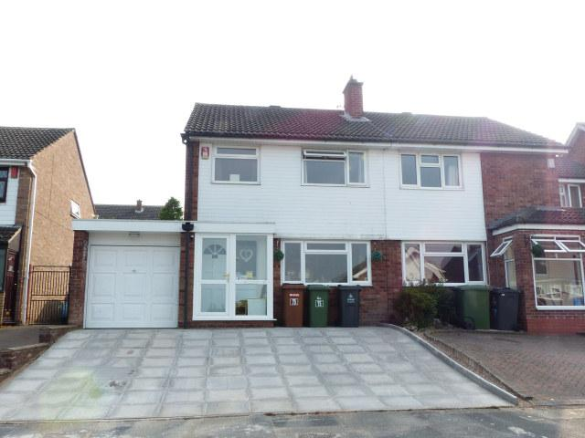 3 Bedrooms Semi Detached House for sale in Whitethorn Crescent,Streetly,Sutton Coldfield