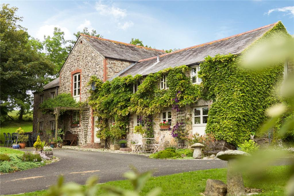 6 Bedrooms Barn Conversion Character Property for sale in Higher Demesnes, Lostwithiel, Cornwall