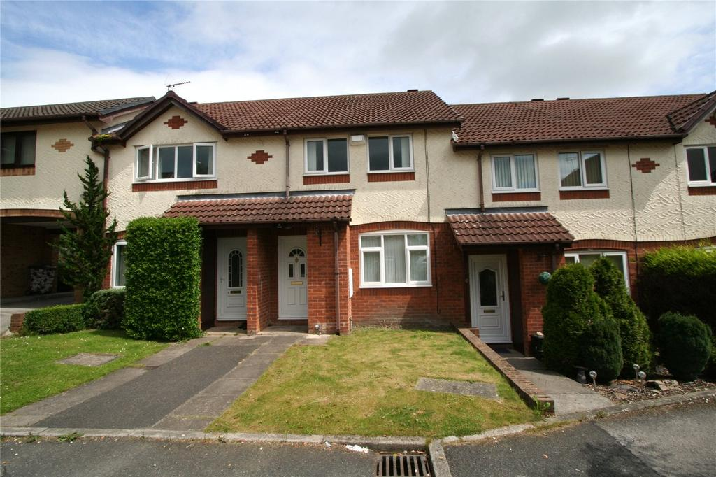 2 Bedrooms Terraced House for sale in Eastfield Court, Abenbury Fields, Wrexham, LL13