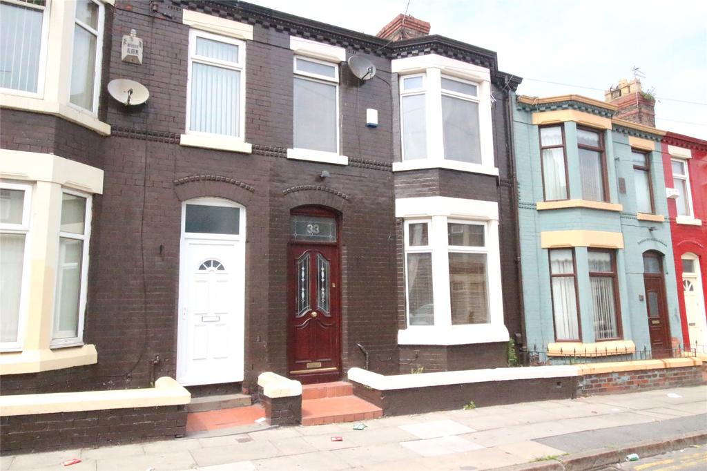 3 Bedrooms Terraced House for sale in Clapham Road, Liverpool, Merseyside, L4