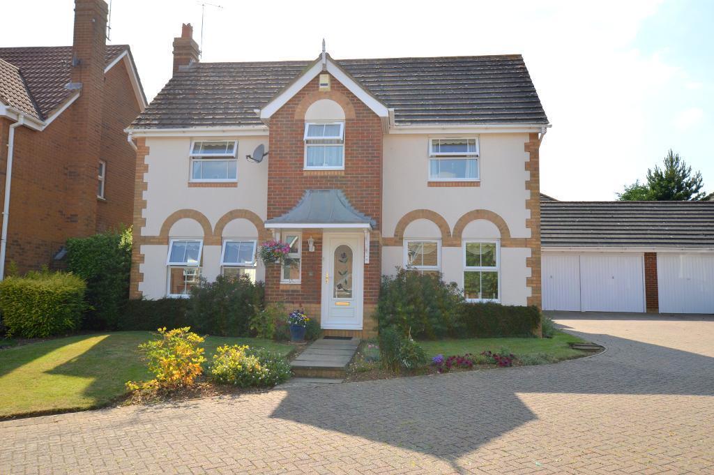 4 Bedrooms Detached House for sale in Gatehill Gardens, Luton, Bedfordshire, LU3 4EZ