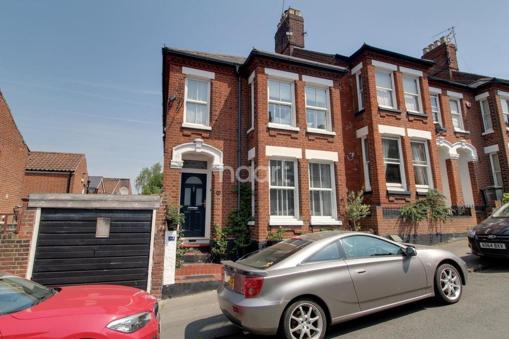 4 Bedrooms End Of Terrace House for sale in Chalk Hill Road, Norwich