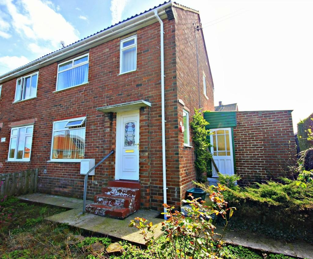 2 Bedrooms Semi Detached House for sale in Uphill Drive, Sacriston