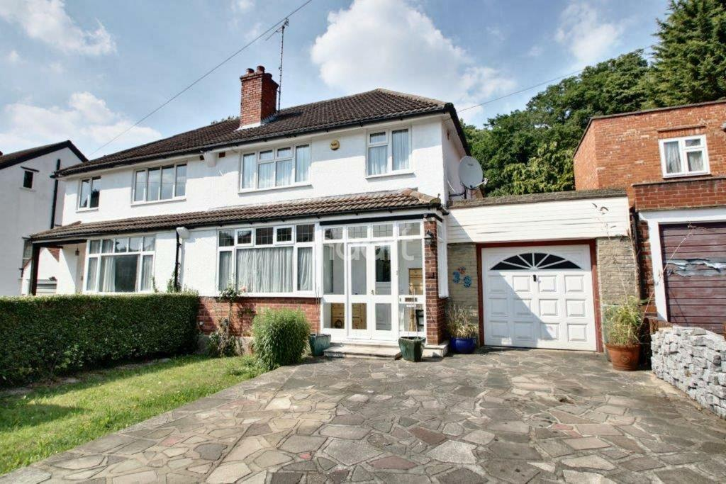 3 Bedrooms Semi Detached House for sale in Ballards Way, South Croydon, CR2