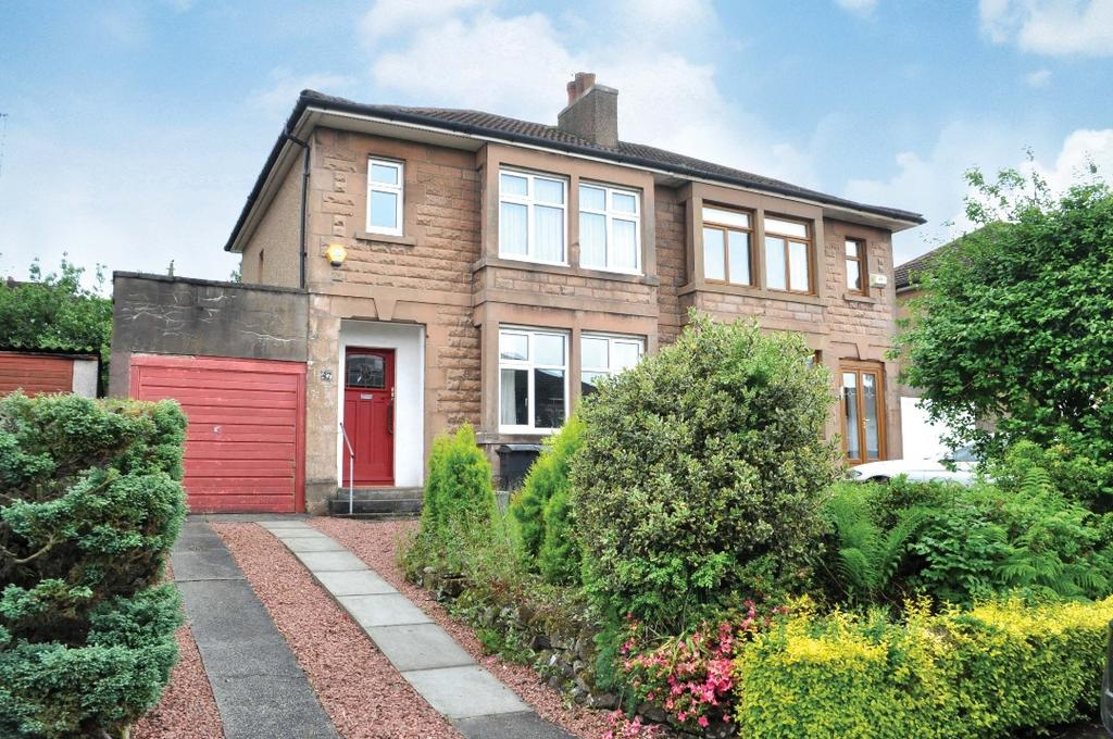 3 Bedrooms Semi Detached House for sale in Iain Road , Bearsden , East Dunbartonshire , G61 4PB