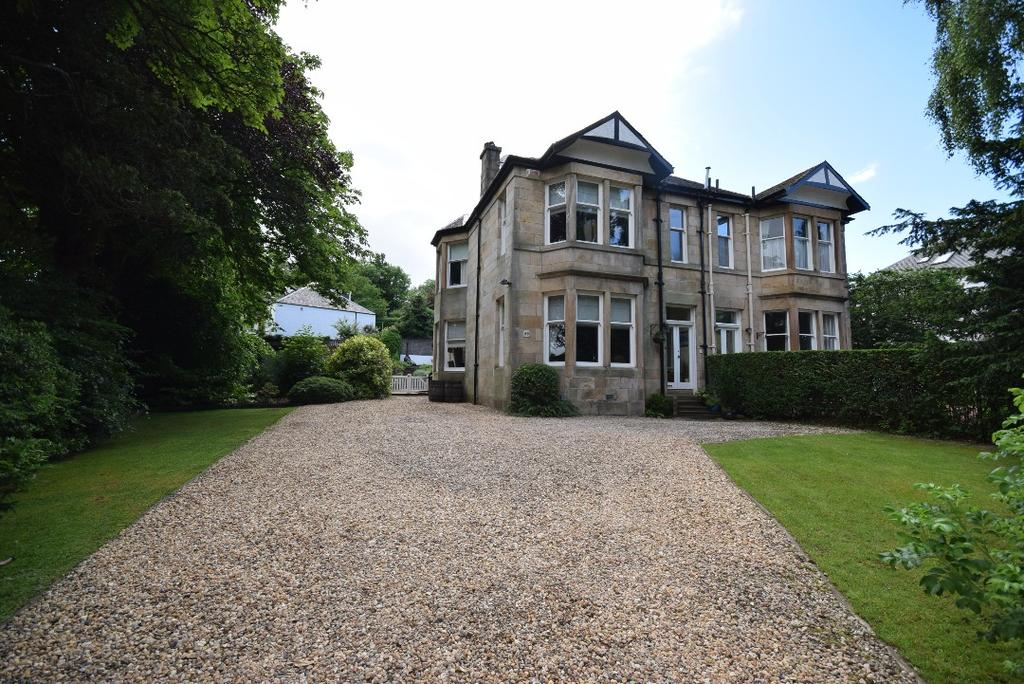 5 Bedrooms Semi-detached Villa House for sale in Eaglesham Road, Clarkston, Glasgow, G76 7DL