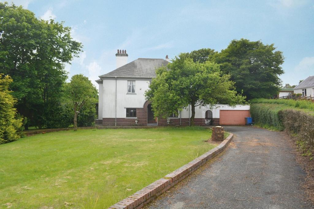 4 Bedrooms Detached House for sale in Hillside, Station Road, Longcroft, Stirling, FK4 1RF