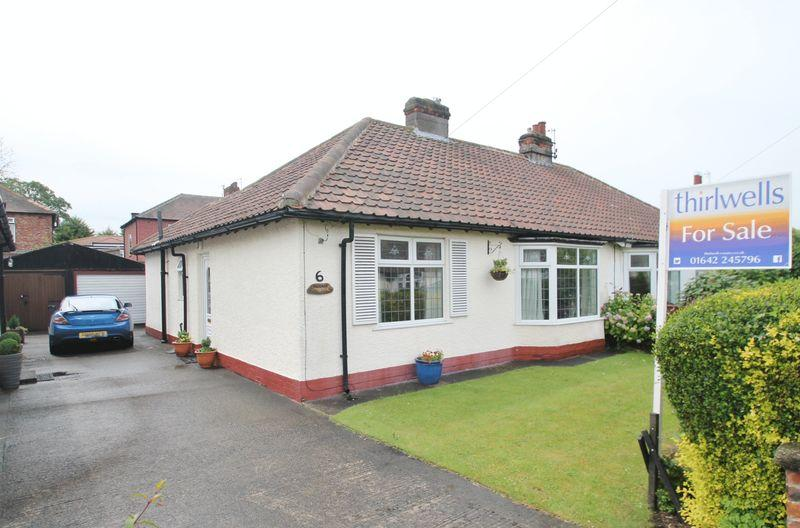 2 Bedrooms Bungalow for sale in Birchgate Road, Linthorpe