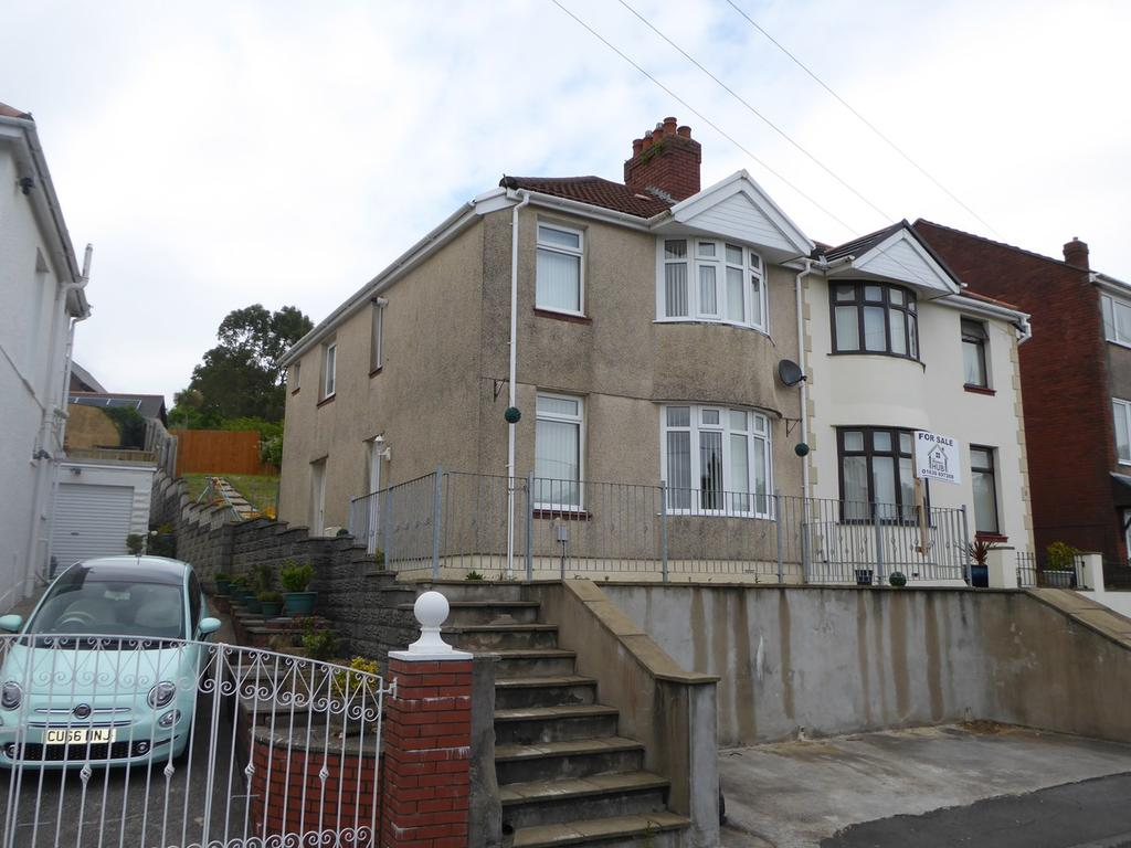 3 Bedrooms Semi Detached House for sale in Brynawel Crescent, Treboeth, Swansea, SA5