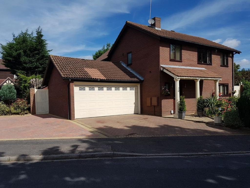 5 Bedrooms Detached House for sale in Stoneleigh Close, Barton Hills, Luton, LU3
