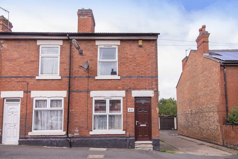 2 Bedrooms End Of Terrace House for sale in SACKVILLE STREET, DERBY