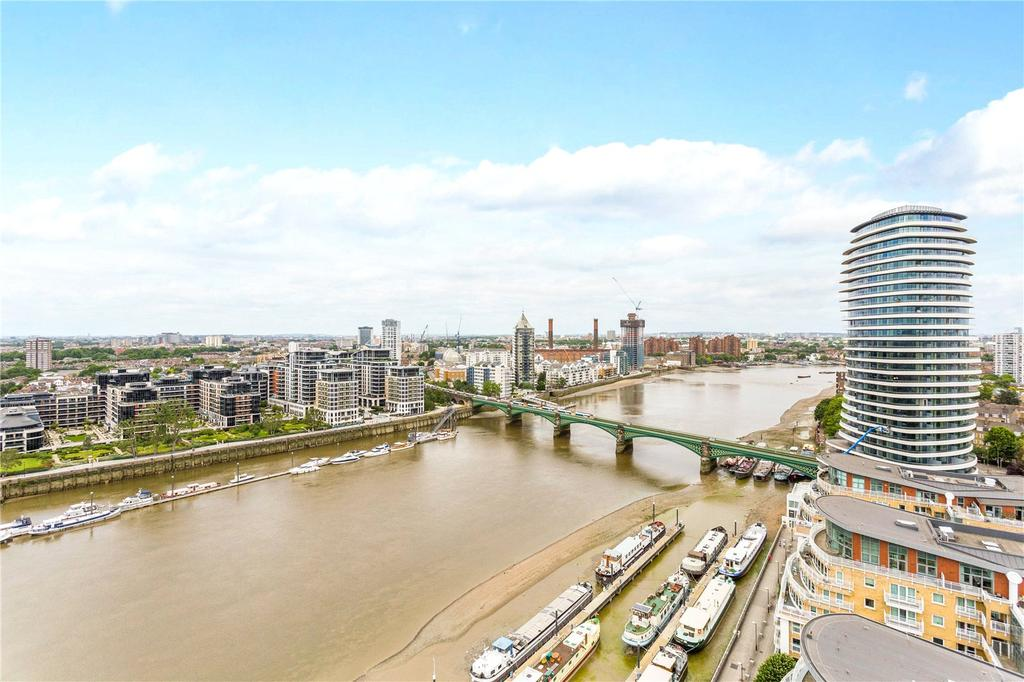 1 Bedroom Flat for sale in Falcon Wharf, 34 Lombard Road, London, SW11