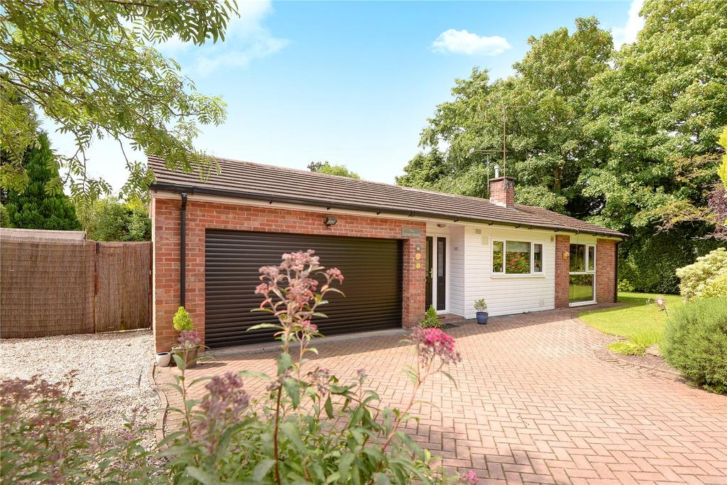 3 Bedrooms Detached Bungalow for sale in Wilmslow Park North, Wilmslow, Cheshire, SK9