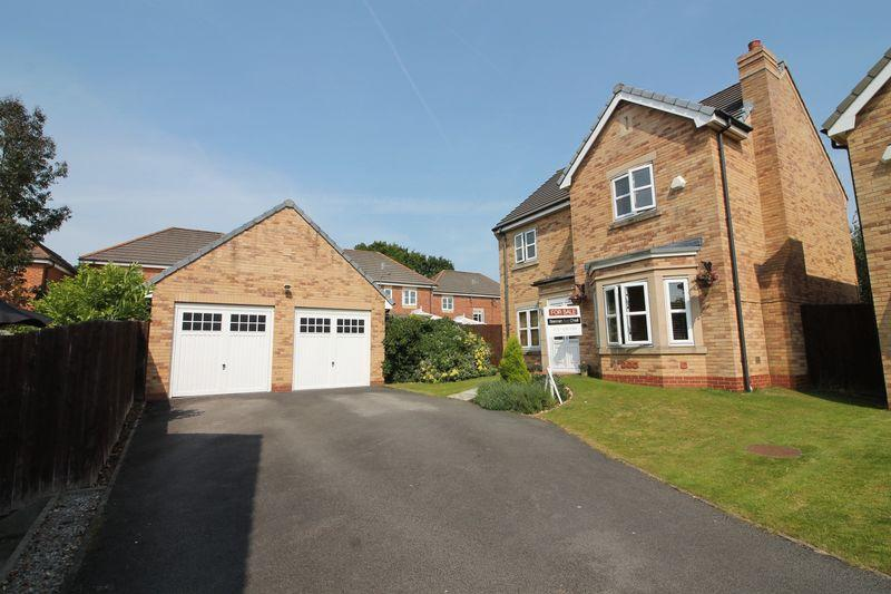 4 Bedrooms Detached House for sale in Palmer Close, Prenton