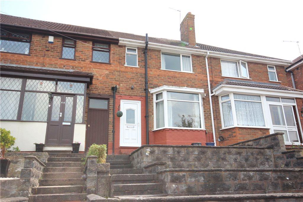 3 Bedrooms Terraced House for sale in Glencroft Road, Solihull, West Midlands, B92