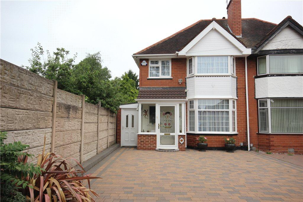 3 Bedrooms Semi Detached House for sale in Barn Lane, Solihull, West Midlands, B92