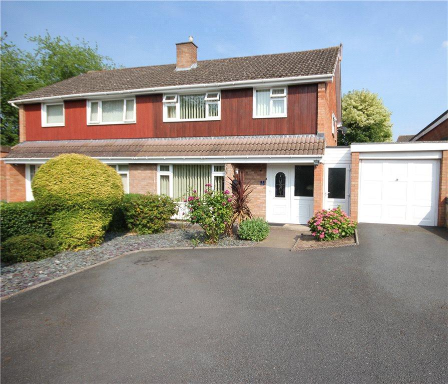 3 Bedrooms Semi Detached House for sale in Traherne Place, Hereford, HR1