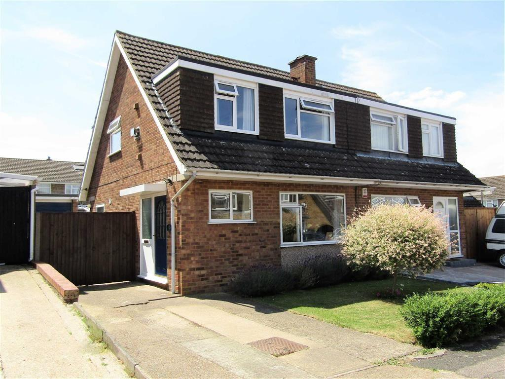 3 Bedrooms Semi Detached House for sale in Spellbrooke, Hitchin, SG5