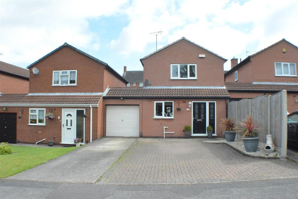 3 Bedrooms Link Detached House for sale in Curzon Close, Rainworth, Mansfield