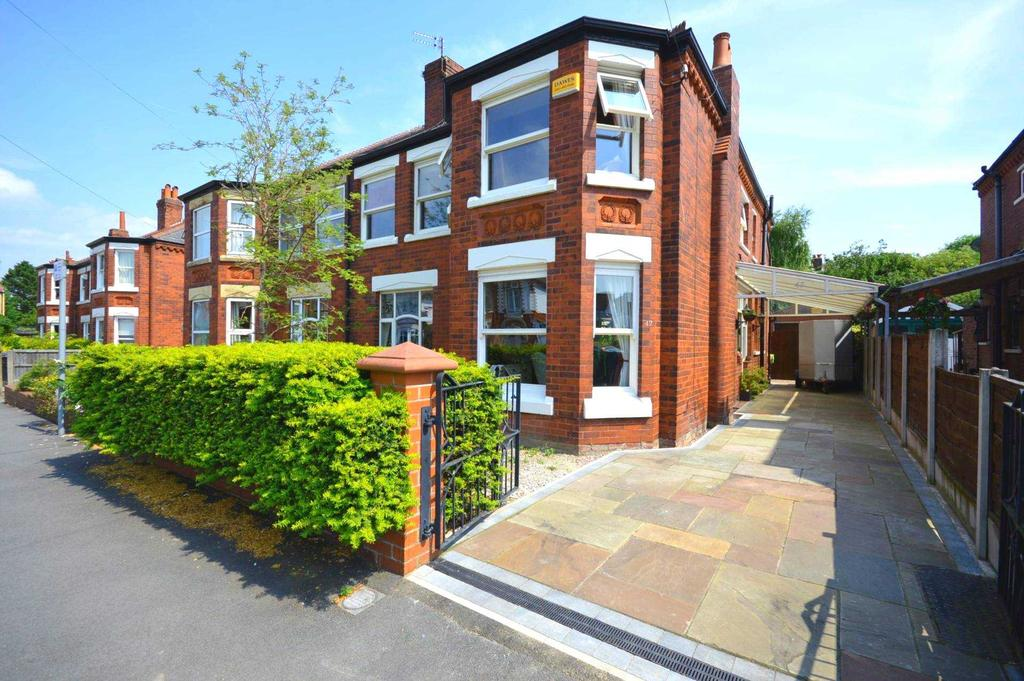 4 Bedrooms Semi Detached House for sale in Victoria Avenue, Cheadle Hulme