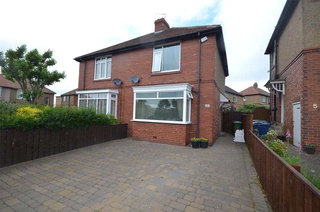 2 Bedrooms Semi Detached House for sale in Low Fell